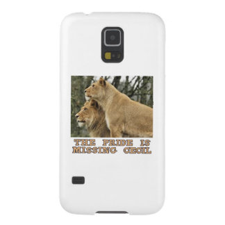 cool Lions designs Galaxy S5 Cover