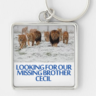 cool Lions designs Keychain