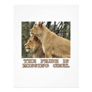 cool Lions designs Letterhead