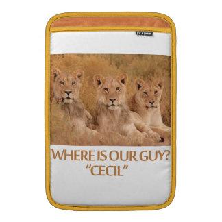 cool Lions designs MacBook Sleeves