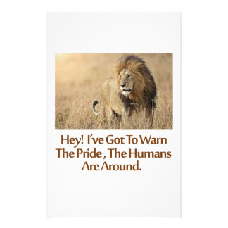 cool Lions designs Stationery