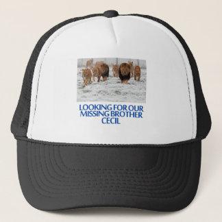 cool Lions designs Trucker Hat