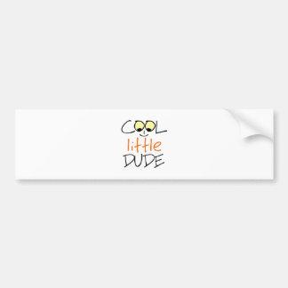 Cool little dude bumper sticker