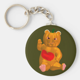 Cool Little Halloween Bear Keychain