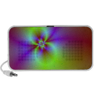Cool little psychedelic speakers