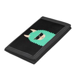 Cool Llama Emoji Wallet