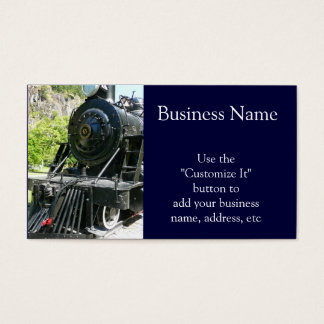 Cool Locomotive Train Business Card