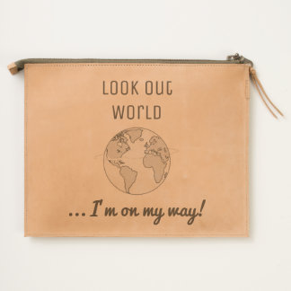 Cool Look Out World Travel Pouch