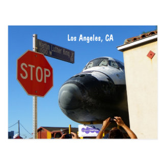 Cool Los Angeles/Endeavour Postcard! Postcard
