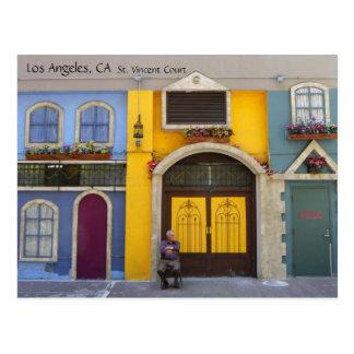 Cool Los Angeles St. Vincent Court Postcard! Postcard