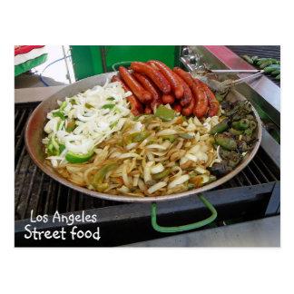 Cool Los Angeles Street Food Postcard! Postcard