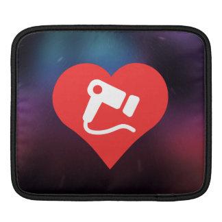 Cool Love hair dryer iPad Sleeves