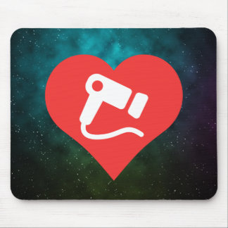 Cool Love hair dryer Mouse Pad