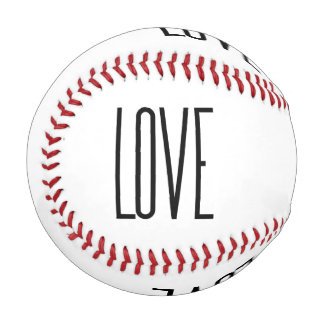 Cool Love – Minimalist Graphic Design Baseball