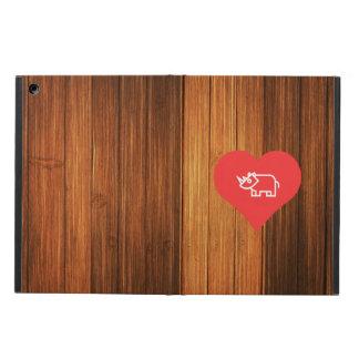 Cool Love Rhinoceros iPad Air Cases