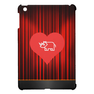 Cool Love Rhinoceros Cover For The iPad Mini