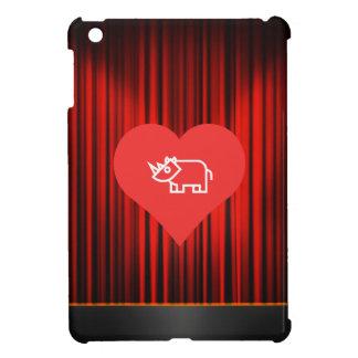 Cool Love Rhinoceros iPad Mini Case