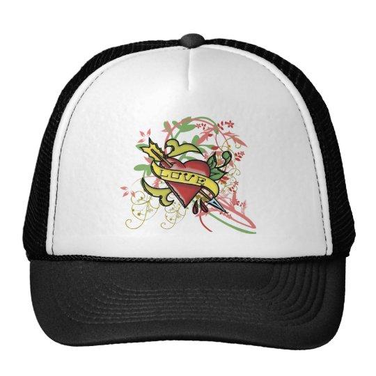 Cool Love Tattoo Trucker Hat