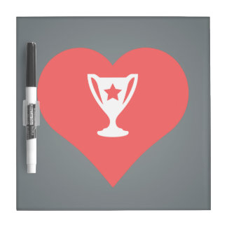 Cool Love Winning Trophies Dry Erase Whiteboards