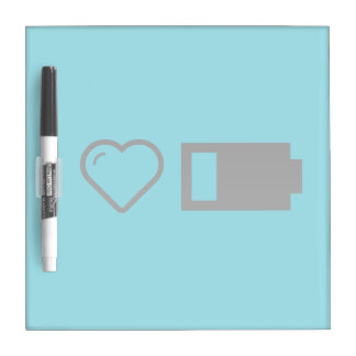 Cool Low Battery Dry Erase Board