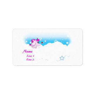 Cool Lucky Pinkie Address Label
