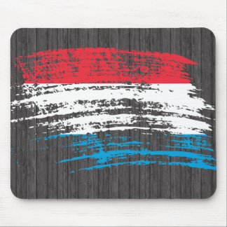 Cool Luxembourger flag design Mousepads