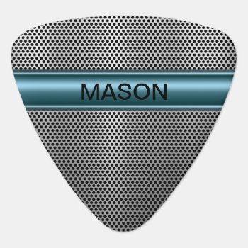 Cool Luxury Monogram Guitar Picks by idesigncafe at Zazzle