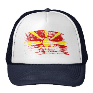 Cool Macedonian flag design Trucker Hat