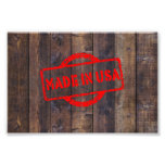 Cool made in usa wood background effects photo