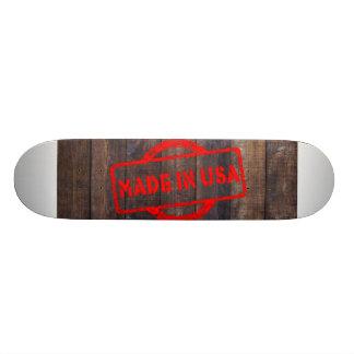 Cool made in usa wood background skateboard decks