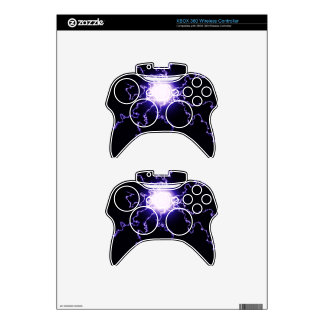 Cool Magic Lightning ball Xbox 360 Controller Decal