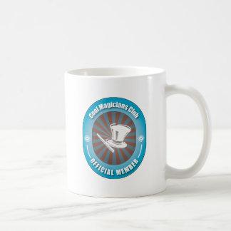 Cool Magicians Club Classic White Coffee Mug