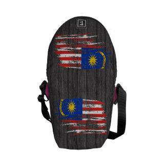 Cool Malaysian flag design Messenger Bag