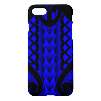 Cool Maori tribal tattoo design with spearheads iPhone 8/7 Case