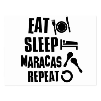 Cool Maracas designs Postcard