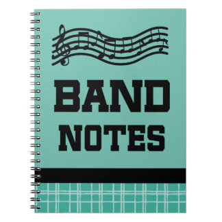 Cool Marching Band Notes Notebook