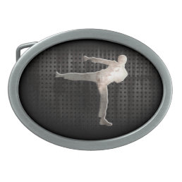 Cool Martial Arts Belt Buckle
