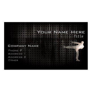 Cool Martial Arts Business Card Template