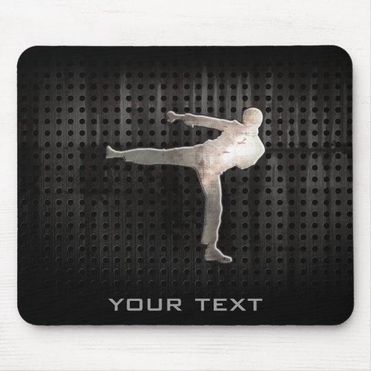 Cool Martial Arts Mouse Pad