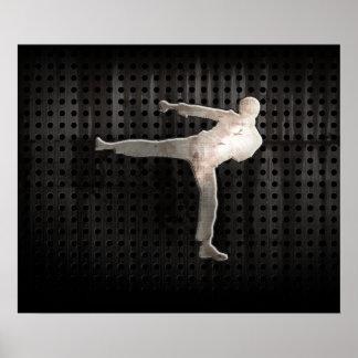 Cool Martial Arts Poster