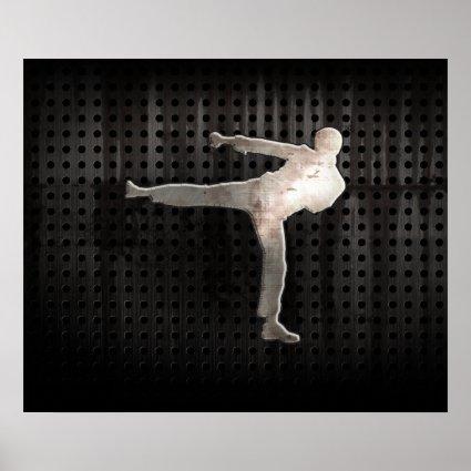 Cool Martial Arts Print
