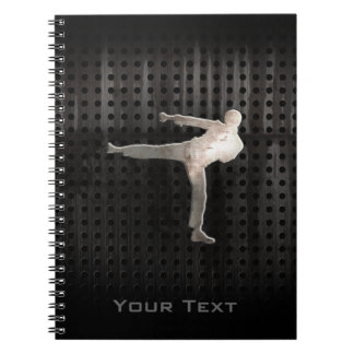 Cool Martial Arts Spiral Notebook