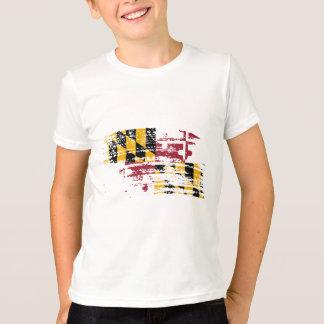 Cool Marylander flag design T-Shirt