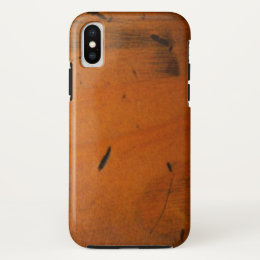 Cool Masculine Baltic Pine Wood Faux Wooden iPhone X Case