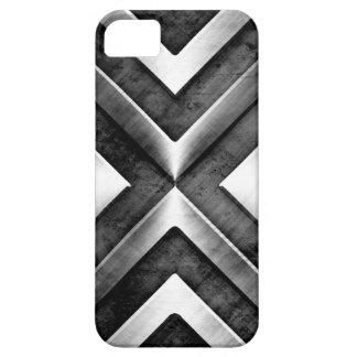 Cool Masculine Dark Metal Steel Look iPhone SE/5/5s Case