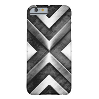 Cool Masculine Dark Metal Steel Pattern Barely There iPhone 6 Case