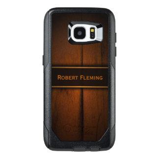 Cool Masculine Faux Baltic Pine Wood Photo Print OtterBox Samsung Galaxy S7 Edge Case