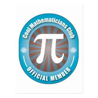 Cool Mathematicians Club Postcard