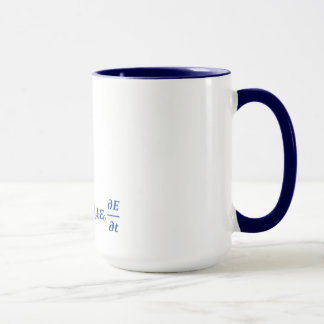 cool maxwell equation mug