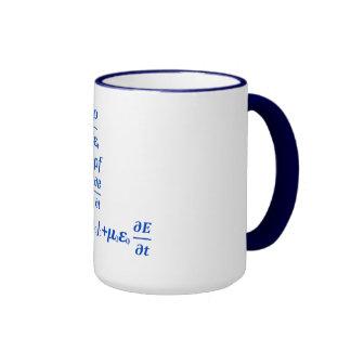 cool maxwell equation ringer mug